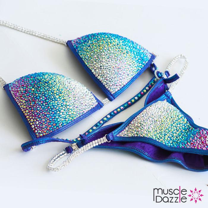Blue Crystal Bikini