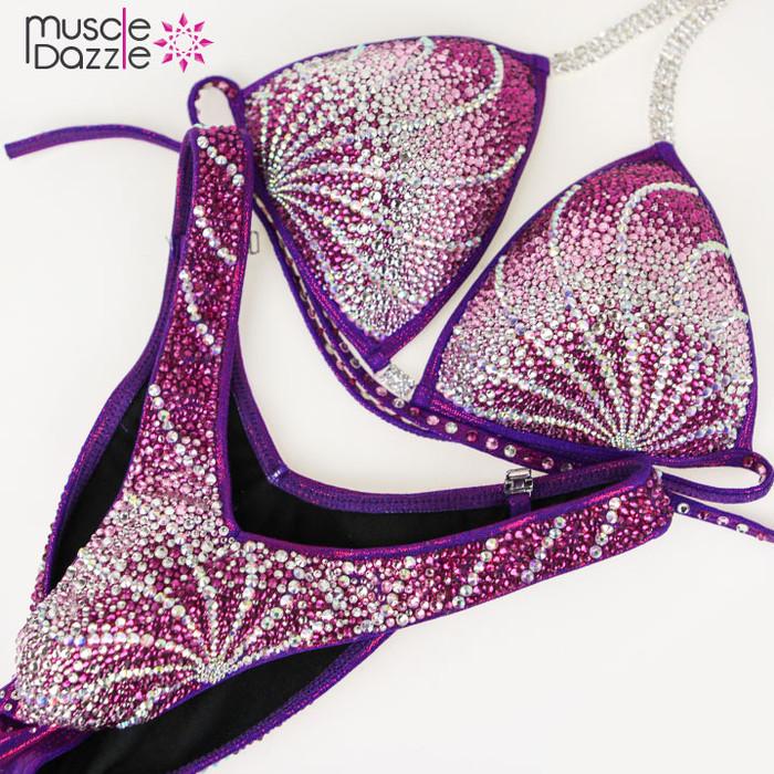 Purple Figure  Suit (FS188)