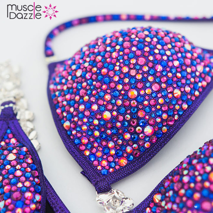 Purple Crystal Bikini (CB118)