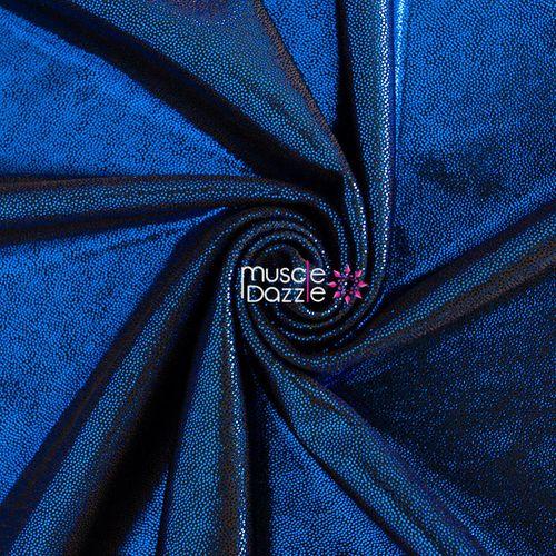 Dark blue competition bikini spandex fabric