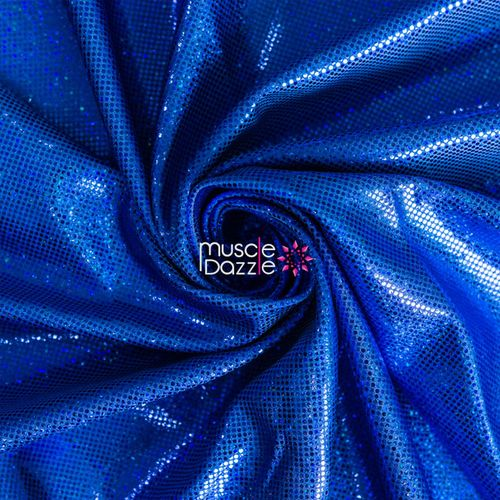 Royal blue competition bikini spandex fabric