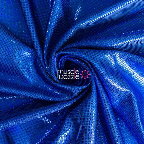 Royal blue competition bikini spandex fabric