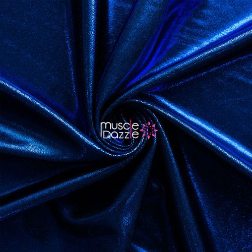 Sapphire blue competition bikini spandex fabric