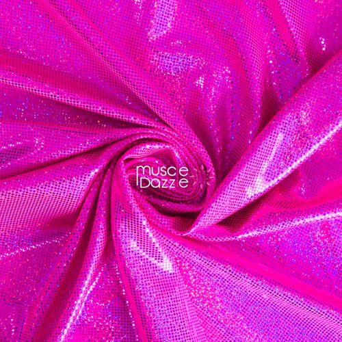 Hot pink competition bikini spandex fabric