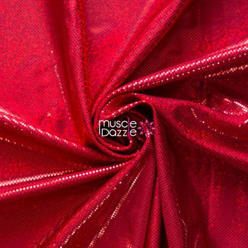 Red competition bikini spandex fabric