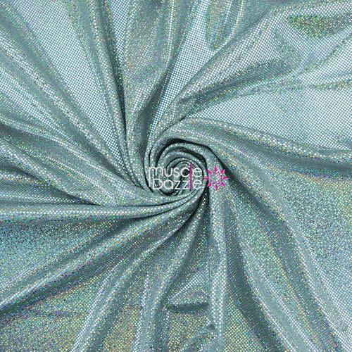 Silver competition bikini spandex fabric