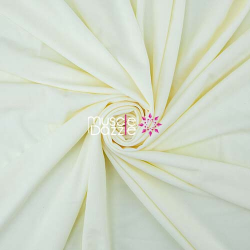 Ivory competition bikini spandex fabric