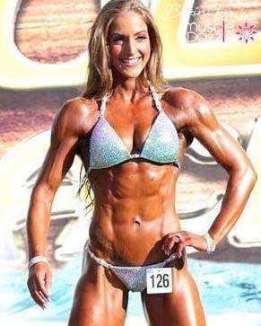 Mint competition bikini