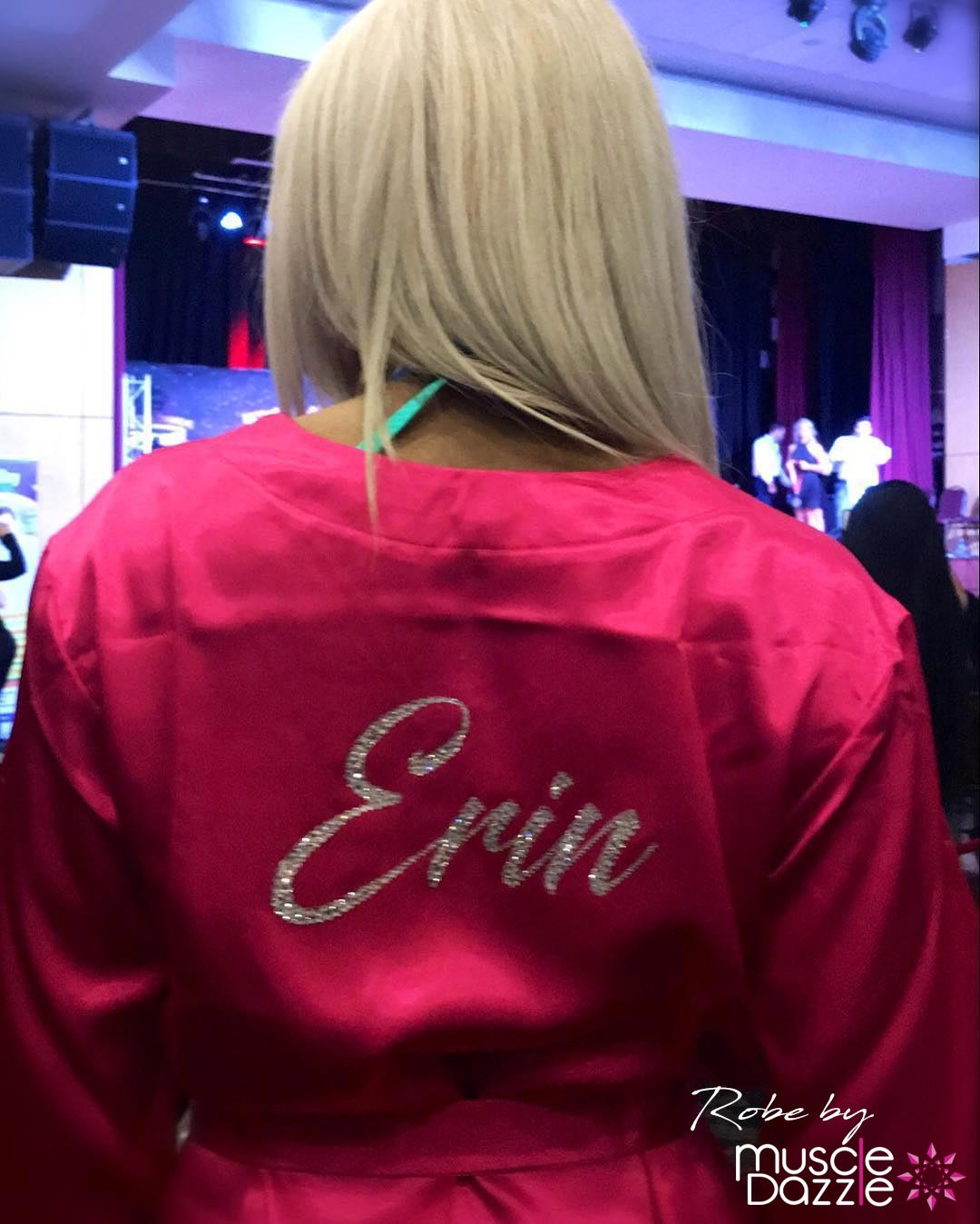 Pink Personalized Competition Robe