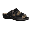 Hallux Linz2 Bunion Slides Black