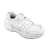 Genext Pedors Athletic Lace Womens White Profile View