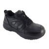 Genext Athletic Black Lace-Up GAL10M Mens Orthopedic Shoes