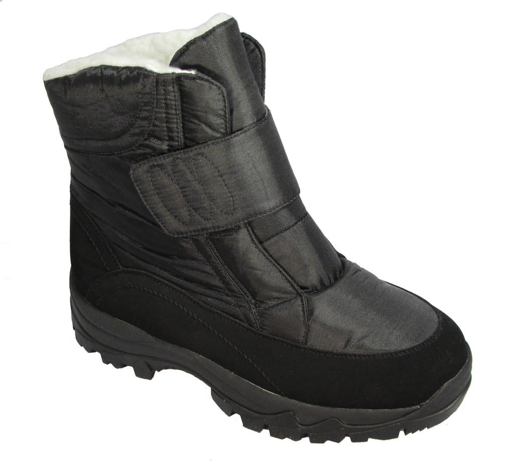 Ciabattas™ Waterproof Winter Half Boot - Velcro Closure