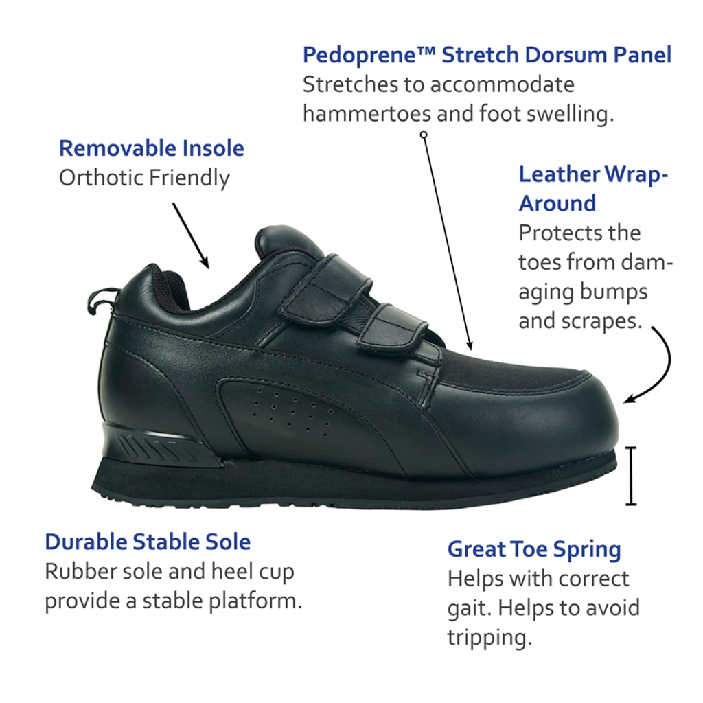 Pedors Stretch Walker Shoes For Hammertoes