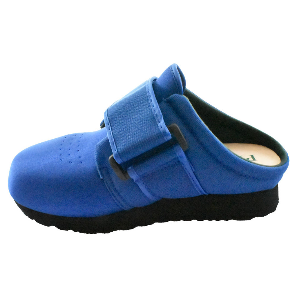 Pedors Classic MAX Slides For Lymphedema BLUE (SL602) - Instep View