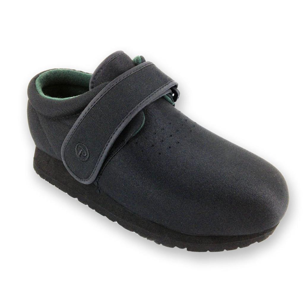 Pedors Classic Black  Orthopedic Shoes For Swollen Feet