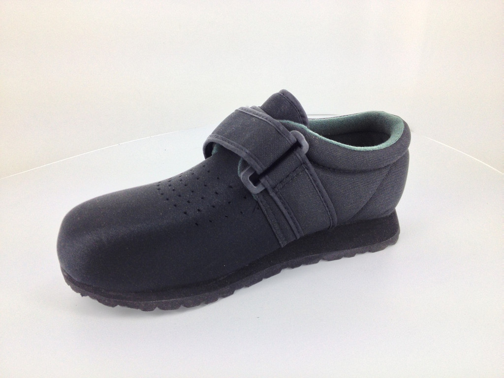 Pedors Classic Black Therapeutic Shoes For Diabetes
