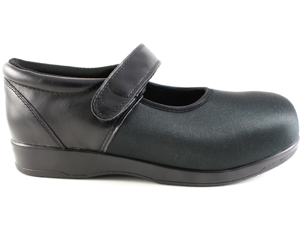 Pedors 500 Black Mary Jane Shoes For Bunions