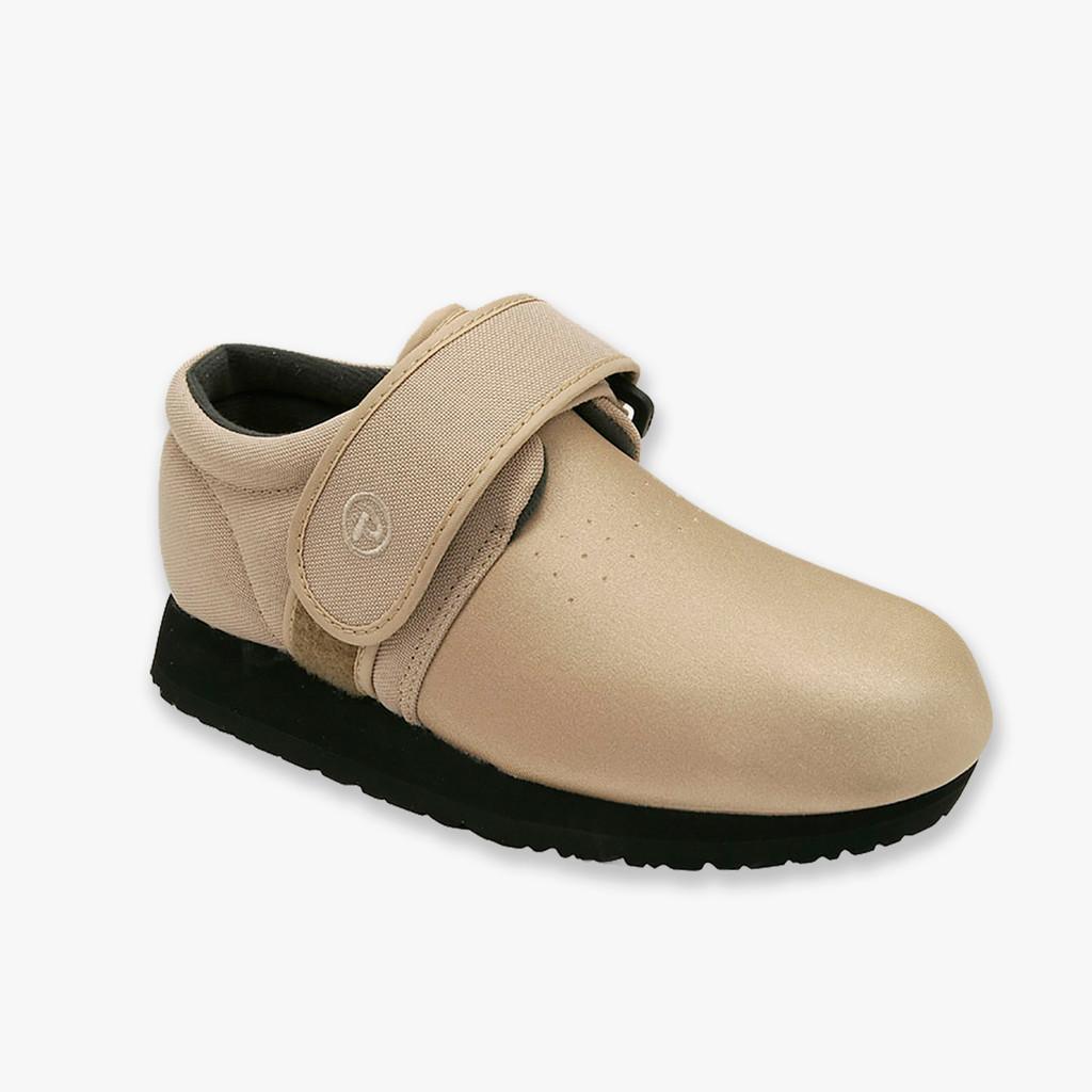 Pedors Classic Beige Stretch Shoes For Edema