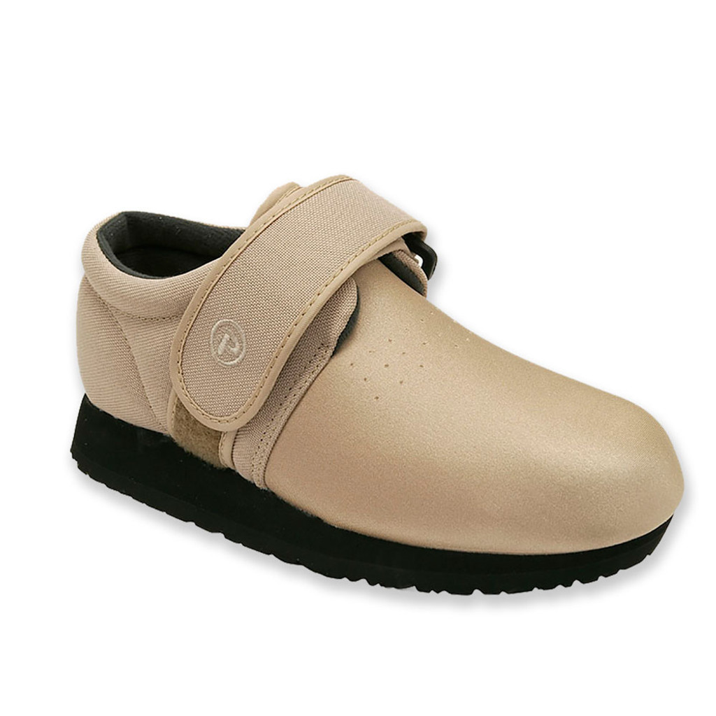 Pedors Classic Beige Stretch Shoes For Bunions