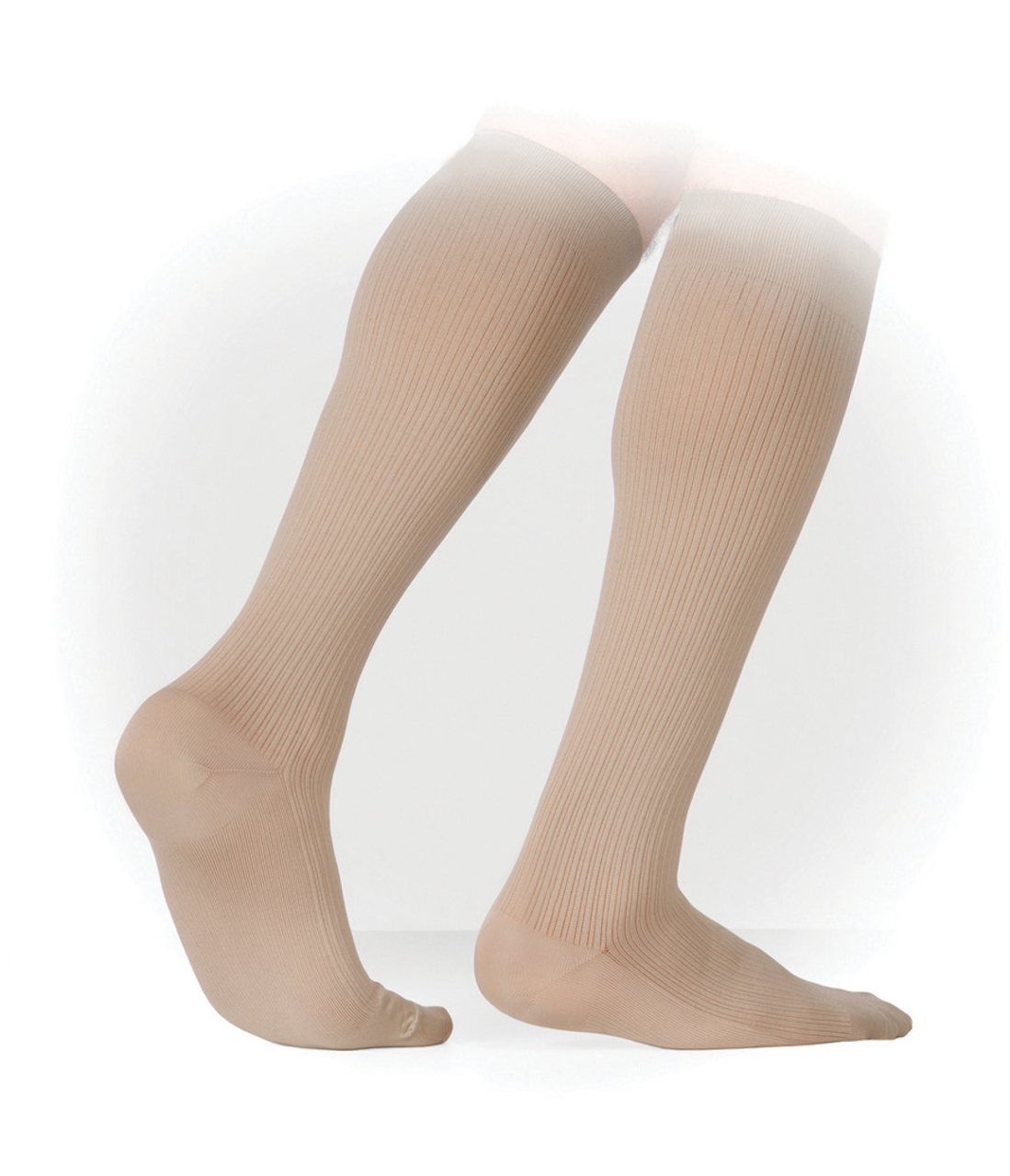 buy online bfec2 b0dd9 Genext Men s Business Ribbed Knee-High Stockings Compression (15-20 ...