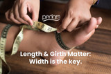 When Measuring For Shoes, Length and Girth Matter. Width is the Key