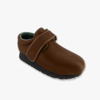 Pedors Classic Brown Stretch Shoes For Bunions