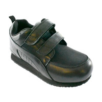 Pedors Stretch Walker MAX Stretch Shoes For Swollen Feet Black (MX800) - Profile View
