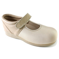 Pedors Mary Jane Beige Therapeutic Shoes For Edema