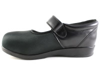Pedors 500 Black Mary Jane Shoes For Swollen Feet