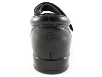 Pedors 500 Black Mary Jane Diabetic Shoes For Bunions