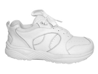Genext Pedors Athletic Lace Womens White Side View