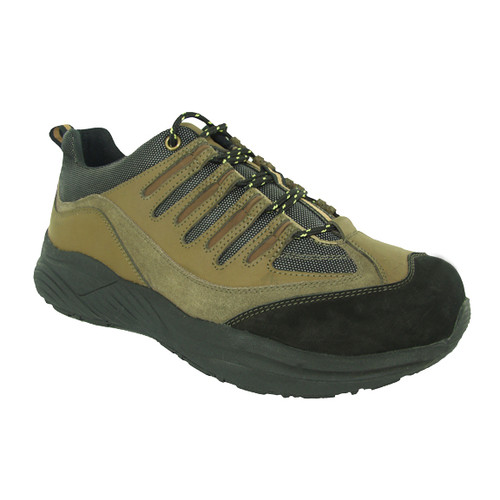Genext Hiker Style Brown GAL40M Mens Orthopedic Shoes