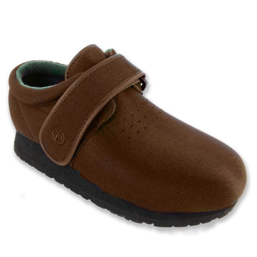 Pedors Classic Brown 605 Stretch Orthopedic Shoes