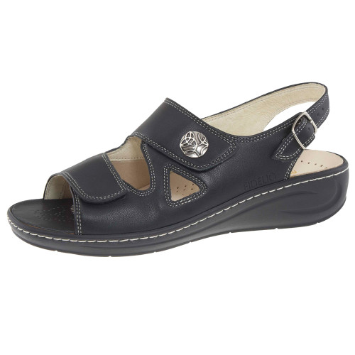 Hallux Vienna2 Bunion Sandals Black