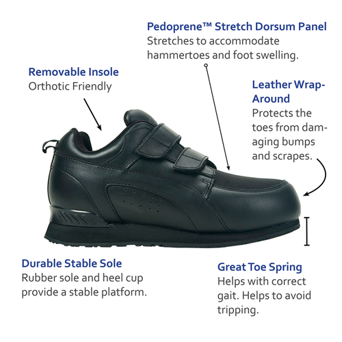 Pedors Stretch Walker Features