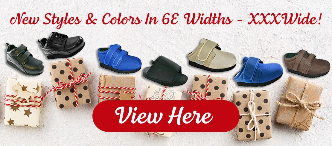 New Styles & Widths On Pedors.com