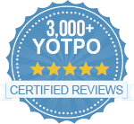 Over 3,000 Certified Reviews