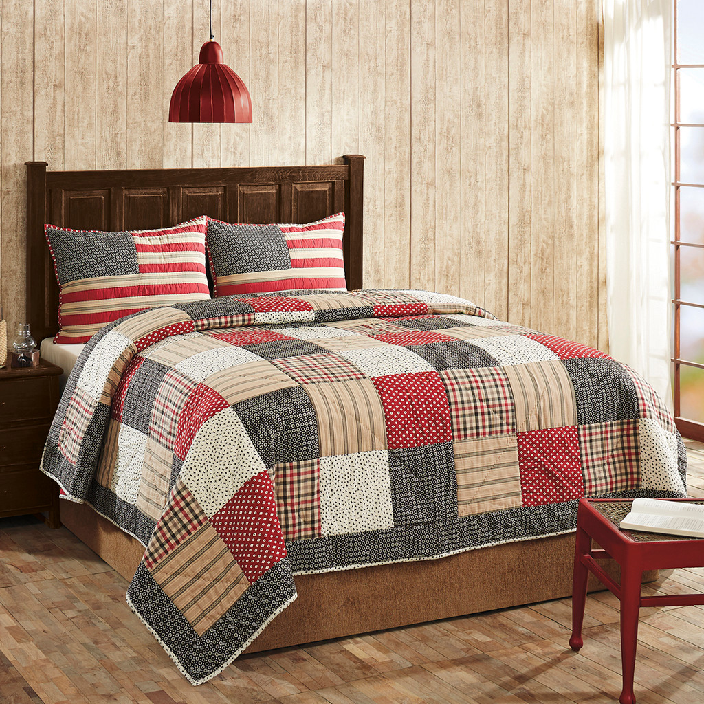 Victory 3 Piece Quilt