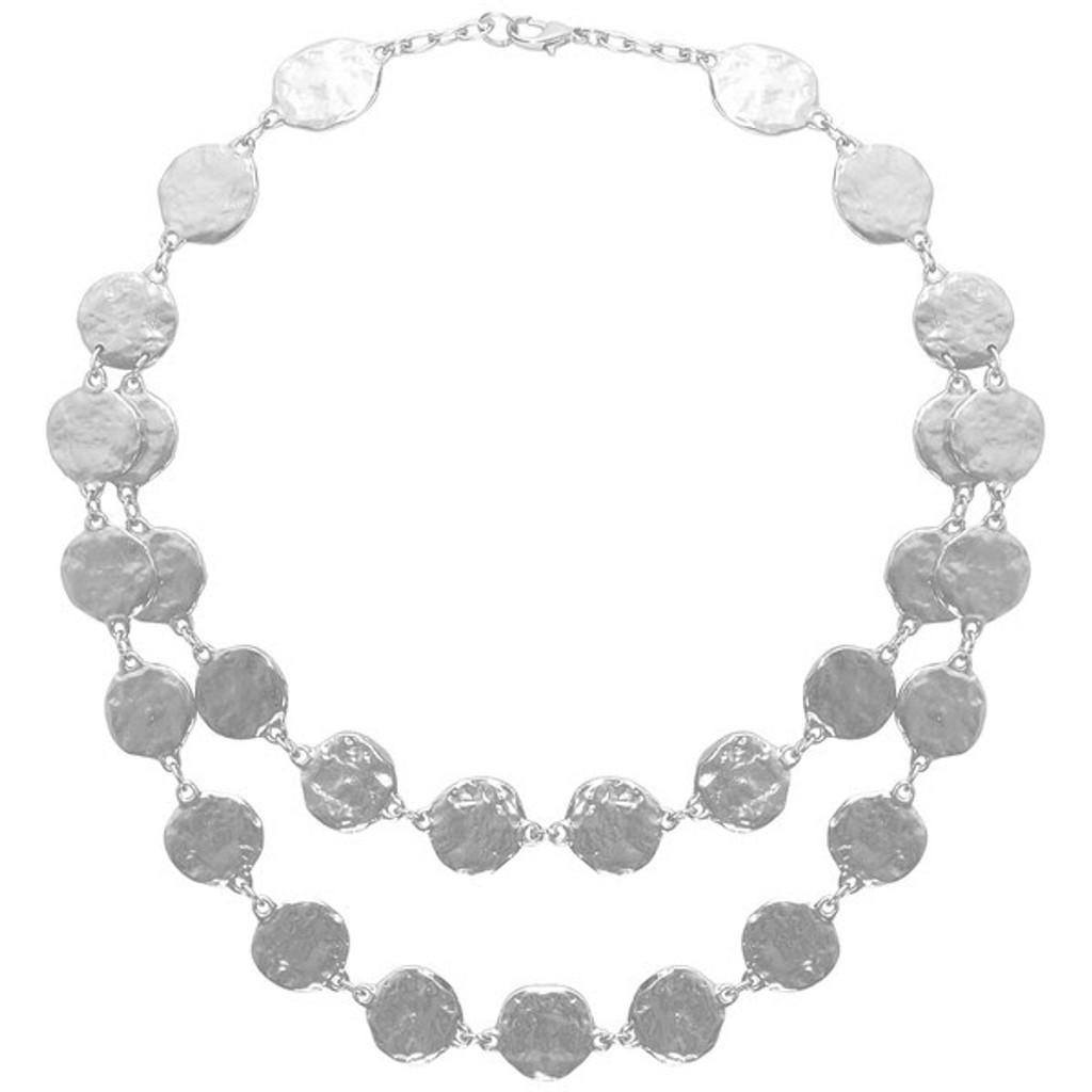 Karine Matt Silver-Plate Necklace