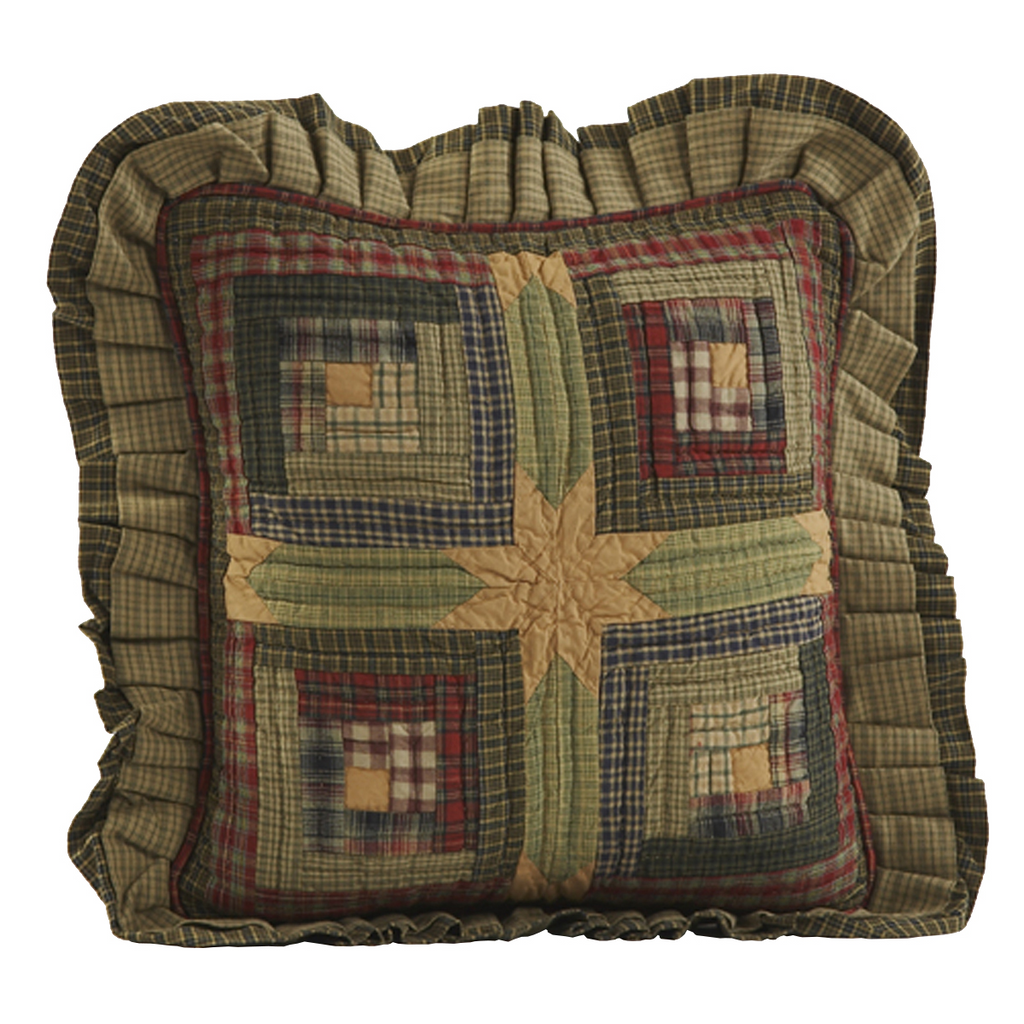 Quilted Toss Pillow 16""