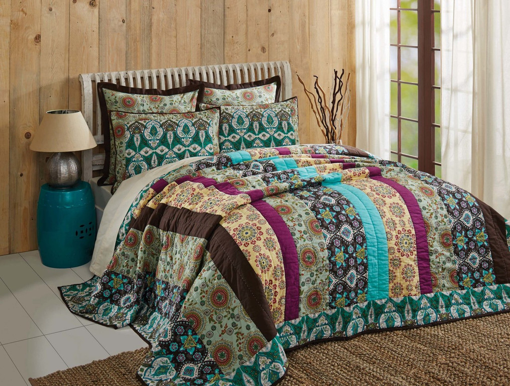 Capri Bohemian Quilt Collection
