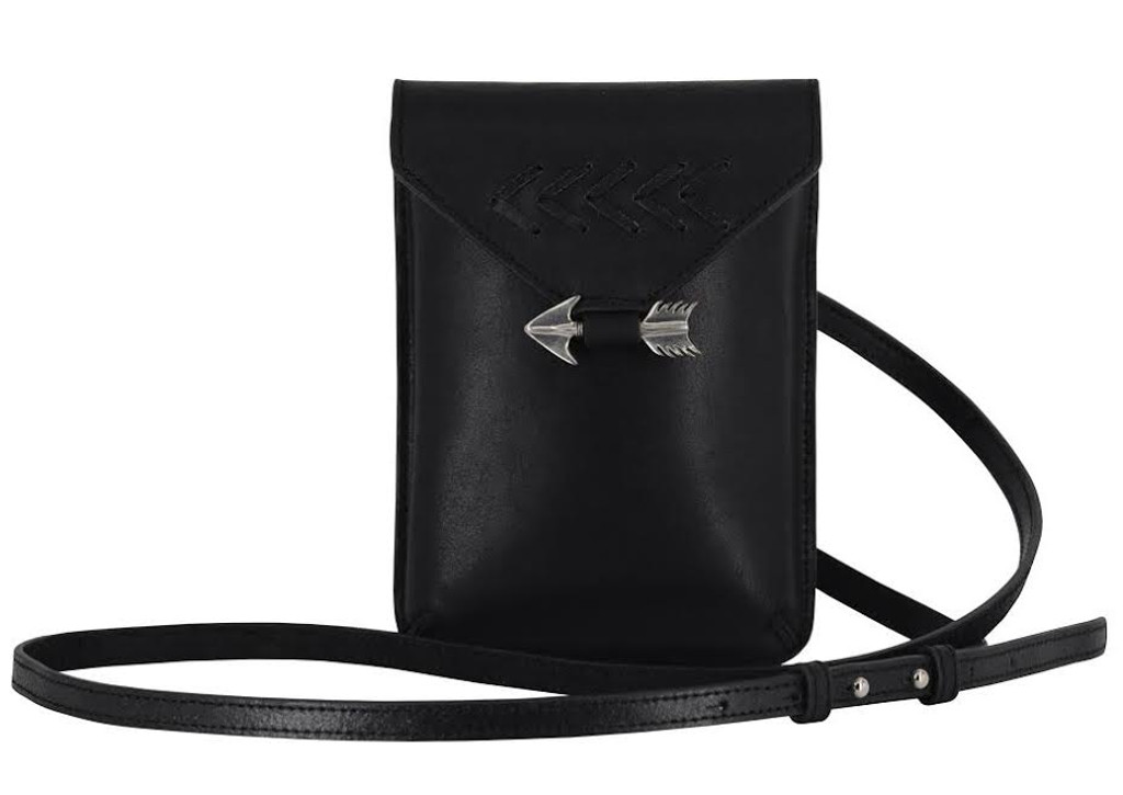 Aim for It Bag in Black Front