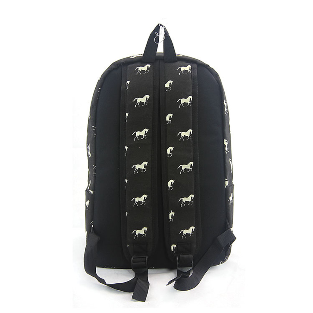 Horse Backpack in Black