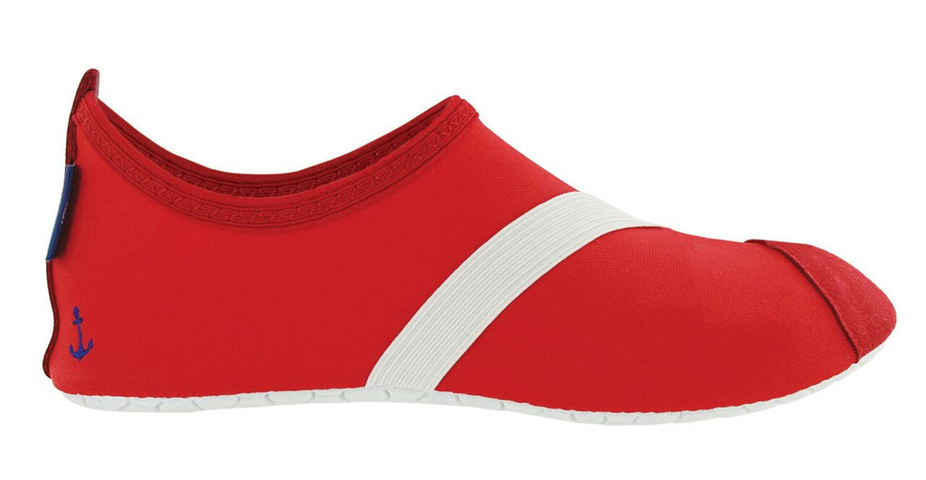Anchors Away Red FITKICKS Footwear