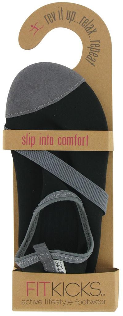 Classic Black FITKICKS Footwear