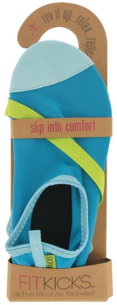 Turquoise Basic FITKICKS Shoe