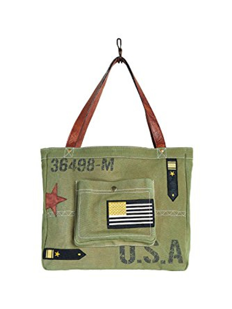 Maverick Military Tote Bag