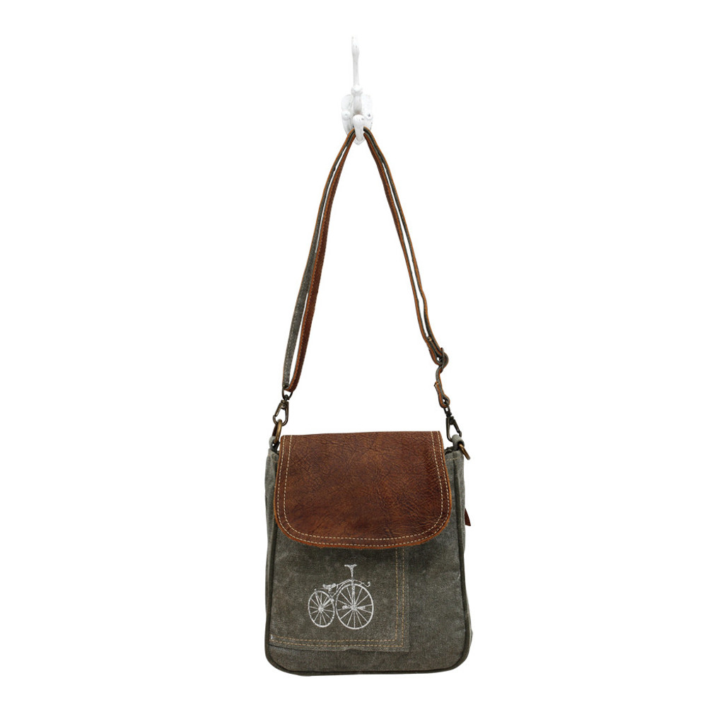 Bicycle Canvas Shoulder Bag