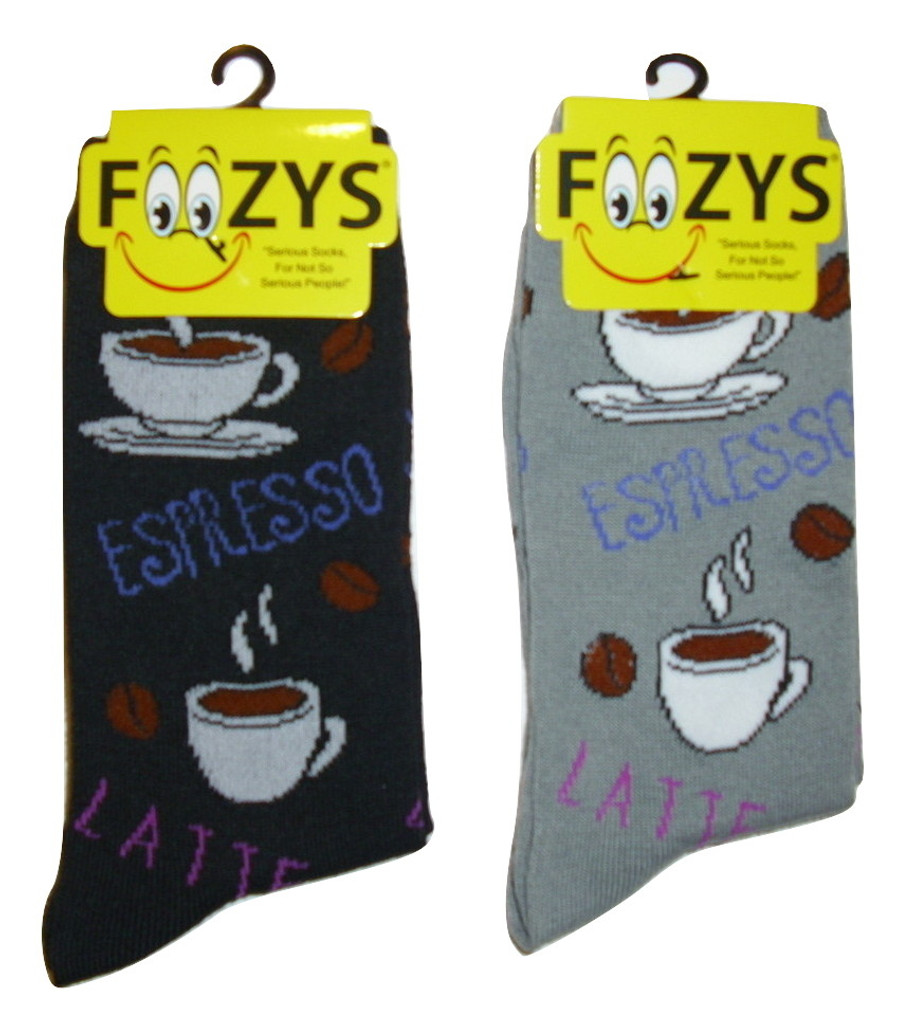 Espresso Ladies Socks - Two Pairs